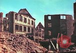 Image of bomb damaged building Wurzburg Germany, 1945, second 9 stock footage video 65675063593