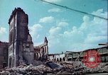 Image of bomb damaged buildings Germany, 1945, second 1 stock footage video 65675063596