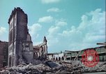 Image of bomb damaged buildings Germany, 1945, second 2 stock footage video 65675063596
