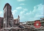Image of bomb damaged buildings Germany, 1945, second 5 stock footage video 65675063596