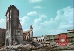 Image of bomb damaged buildings Germany, 1945, second 10 stock footage video 65675063596