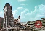 Image of bomb damaged buildings Germany, 1945, second 12 stock footage video 65675063596
