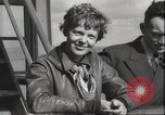 Image of Amelia Earhart Pacific Ocean, 1937, second 7 stock footage video 65675063617