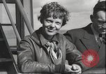 Image of Amelia Earhart Pacific Ocean, 1937, second 8 stock footage video 65675063617