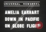 Image of Amelia Earhart Putnam South Pacific Ocean, 1937, second 4 stock footage video 65675063620