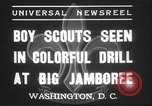 Image of American boy scouts Washington DC USA, 1937, second 5 stock footage video 65675063623