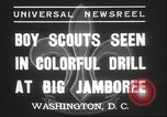 Image of American boy scouts Washington DC USA, 1937, second 6 stock footage video 65675063623