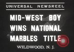 Image of National Marble Championship Wildwood New Jersey USA, 1937, second 4 stock footage video 65675063626