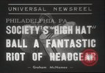 Image of High Hat Competition Philadelphia Pennsylvania USA, 1939, second 1 stock footage video 65675063629