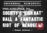 Image of High Hat Competition Philadelphia Pennsylvania USA, 1939, second 3 stock footage video 65675063629