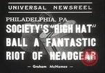 Image of High Hat Competition Philadelphia Pennsylvania USA, 1939, second 5 stock footage video 65675063629