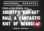 Image of High Hat Competition Philadelphia Pennsylvania USA, 1939, second 7 stock footage video 65675063629