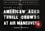 Image of air show Miami Florida USA, 1939, second 1 stock footage video 65675063631