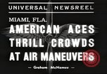 Image of air show Miami Florida USA, 1939, second 2 stock footage video 65675063631