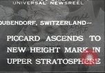 Image of Jacques Piccard Dubendorf Switzerland, 1932, second 1 stock footage video 65675063636