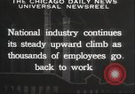 Image of American workers United States USA, 1932, second 4 stock footage video 65675063637