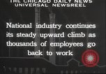 Image of American workers United States USA, 1932, second 7 stock footage video 65675063637