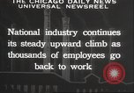 Image of American workers United States USA, 1932, second 8 stock footage video 65675063637