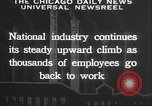 Image of American workers United States USA, 1932, second 10 stock footage video 65675063637