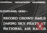 Image of National Air Race Cleveland Ohio USA, 1932, second 2 stock footage video 65675063638