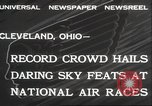 Image of National Air Race Cleveland Ohio USA, 1932, second 3 stock footage video 65675063638