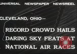 Image of National Air Race Cleveland Ohio USA, 1932, second 6 stock footage video 65675063638