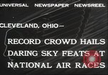 Image of National Air Race Cleveland Ohio USA, 1932, second 7 stock footage video 65675063638