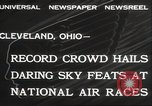 Image of National Air Race Cleveland Ohio USA, 1932, second 8 stock footage video 65675063638