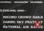 Image of National Air Race Cleveland Ohio USA, 1932, second 11 stock footage video 65675063638