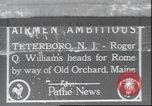 Image of Roger Q Williams Maine United States USA, 1929, second 1 stock footage video 65675063648