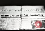 Image of German soldiers Germany, 1939, second 7 stock footage video 65675063665