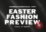 Image of Easter hat preview New York United States USA, 1960, second 1 stock footage video 65675063693