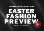 Image of Easter hat preview New York United States USA, 1960, second 2 stock footage video 65675063693