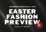 Image of Easter hat preview New York United States USA, 1960, second 4 stock footage video 65675063693