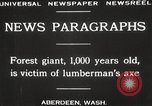 Image of Lumberman Aberdeen Washington USA, 1929, second 8 stock footage video 65675063699