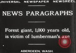 Image of Lumberman Aberdeen Washington USA, 1929, second 9 stock footage video 65675063699