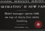 Image of Skating rink on rooftop Chicago Illinois USA, 1929, second 4 stock footage video 65675063701