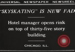 Image of Skating rink on rooftop Chicago Illinois USA, 1929, second 5 stock footage video 65675063701