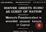 Image of Herbert Hoover Washington DC USA, 1929, second 1 stock footage video 65675063702