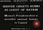 Image of Herbert Hoover Washington DC USA, 1929, second 2 stock footage video 65675063702