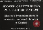 Image of Herbert Hoover Washington DC USA, 1929, second 4 stock footage video 65675063702