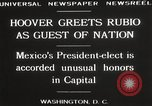 Image of Herbert Hoover Washington DC USA, 1929, second 6 stock footage video 65675063702