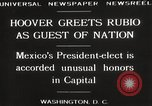Image of Herbert Hoover Washington DC USA, 1929, second 8 stock footage video 65675063702
