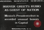Image of Herbert Hoover Washington DC USA, 1929, second 9 stock footage video 65675063702