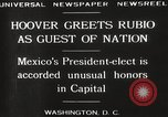 Image of Herbert Hoover Washington DC USA, 1929, second 10 stock footage video 65675063702