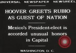 Image of Herbert Hoover Washington DC USA, 1929, second 12 stock footage video 65675063702