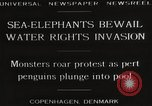 Image of Sea-elephants Copenhagen Denmark, 1929, second 3 stock footage video 65675063703