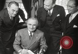 Image of President Harry Truman Washington DC USA, 1946, second 16 stock footage video 65675063704