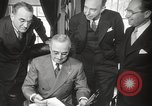 Image of President Harry Truman Washington DC USA, 1946, second 17 stock footage video 65675063704
