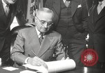 Image of President Harry Truman Washington DC USA, 1946, second 18 stock footage video 65675063704